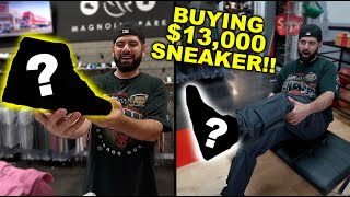 BUYING MY MOST EXPENSIVE SNEAKER EVER!! 😵 (I CANT BELIEVE IT)