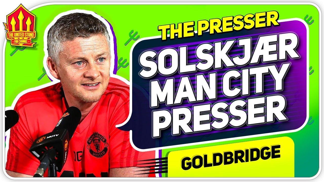 Solskjaer Press Conference Reaction! Man City vs Manchester United