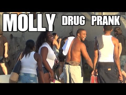 Molly Drug Prank [Public Prank]