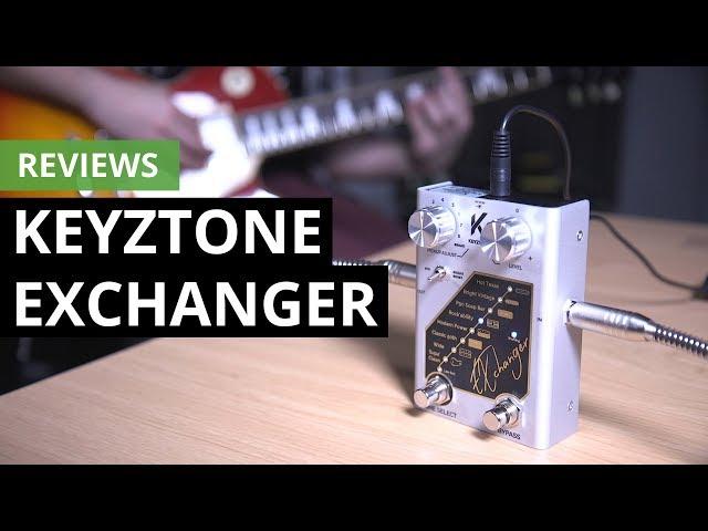 Review de Keyztone Echanger, el pedal que transforma tus pastillas de guitarra