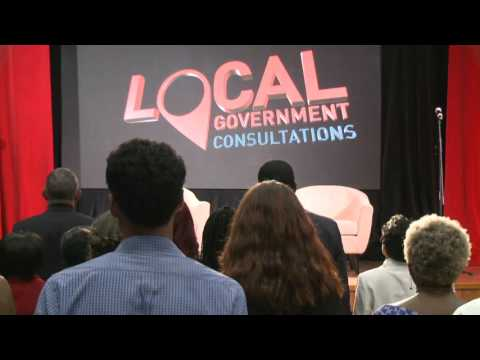Local Government Reform Consultation at City Hall, Port of Spain