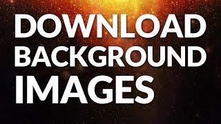 Download Background Images on Websites