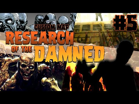 RESEARCH OF THE DAMNED #5 [CUSTOM MAP WORLD AT WAR #75]