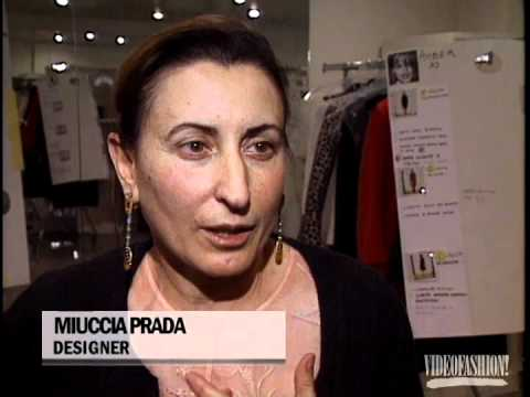 Prada - Designer Biography - Miuccia Prada - Videofashion Vault