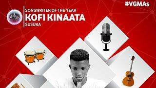 Kofi Kinaata - Performance @ 2016 Vodafone Ghana Music Awards   GhanaMusic.com Video