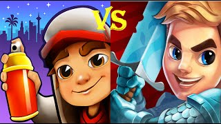 Subway Surfers VS Blades of Brim Android Gameplay