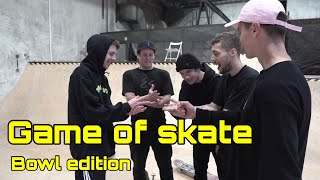 GAME OF SKATE V BAZÉNU