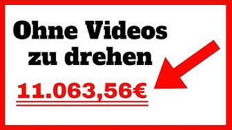 Mit YouTube Geld verdienen, OHNE eigene Videos zu drehen 2019
