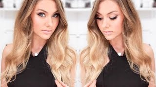 GRWM for a Night Out - Special Occasion Tan, Hair & Makeup Tutorial  ♥ stephaniemaii ♥