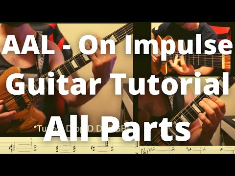 Animals As Leaders On Impulse Rhythm Guitar Tutorial Full Song With Tabs Youtube