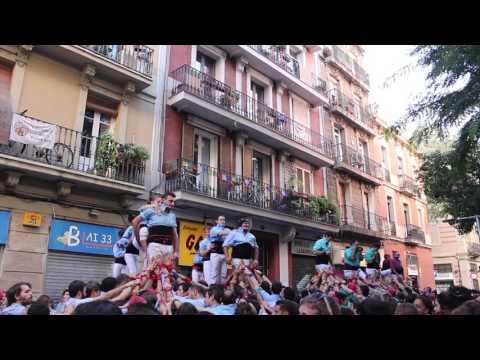 Castellers del Poble Sec - 2 p5  PG -  Diada de Tardor (15-XI-15)