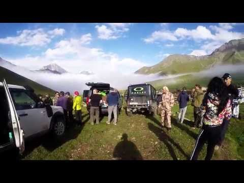 Экспедиция Land Rover Club Ростов в Кабардино Балкарию
