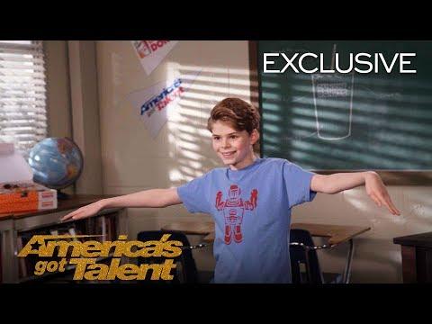 AGT's Talent University: Merrick Hanna Teaches Dance - America's Got Talent 2018