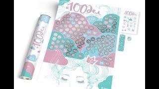 Скачать Мотивационный постер 100дел настоящей девочки Oh My Look Edition