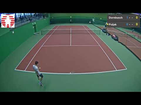 David Poljak vs  Michel Dornbusch 22 11 2017 ITF Futures Val