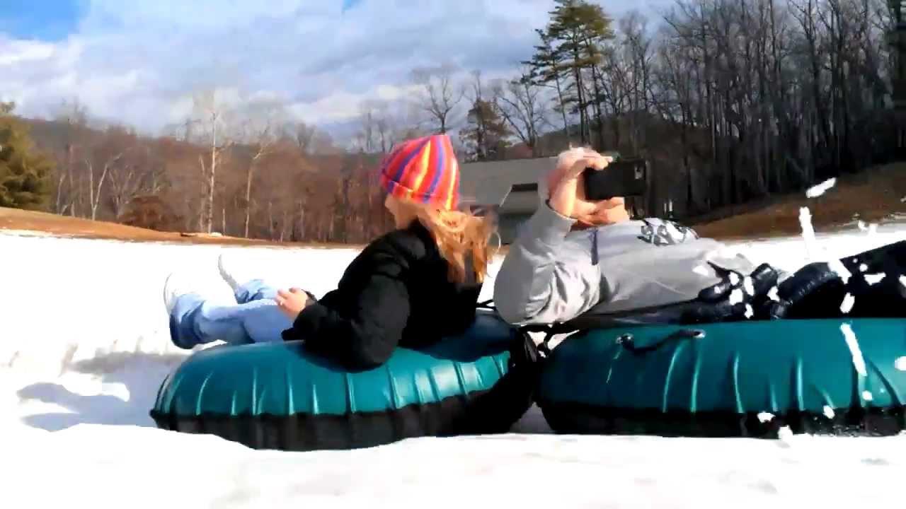 massanutten snow tubing - youtube
