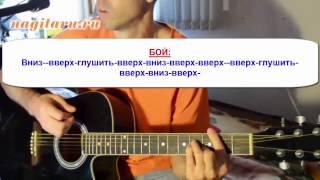 Полюса - Смысловые Галлюцинации - Аккорды и разбор гитарного боя