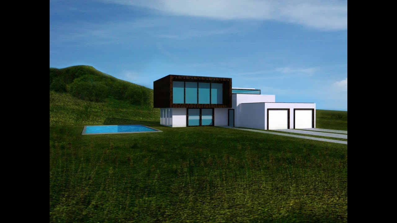 3 modern house design in free google sketchup 8 how for Google house design