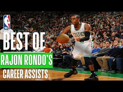 Best Rajon Rondo Career Assists!