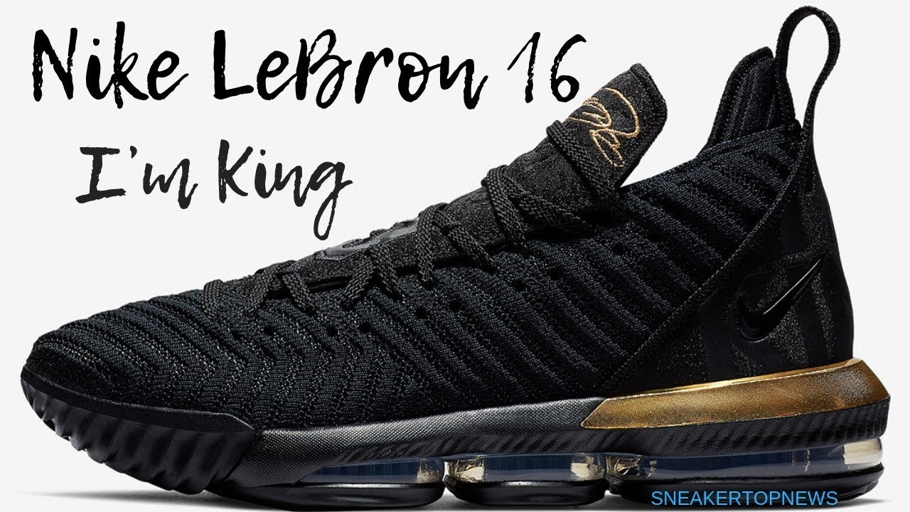 "39f22dbe8cfda The Nike LeBron 16 ""I m King"" Releases On December 15th - YouTube"