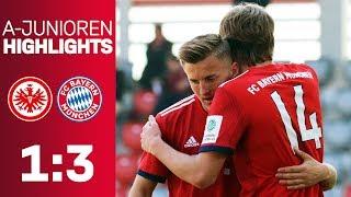 U19 celebrates away victory! | Eintracht Frankfurt vs. FC Bayern 1-3 | Highlights - U19 Bundesliga