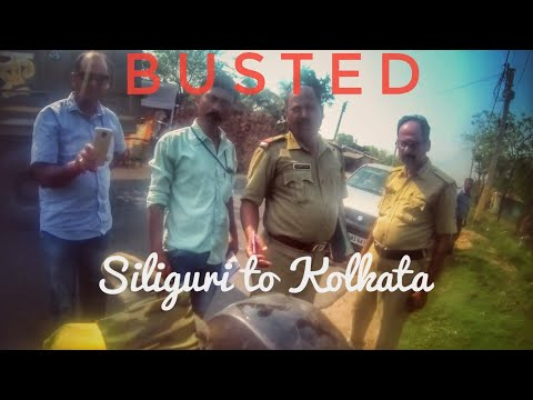 Harassed By Police During The Ride??|| Siliguri To Kolkata || North Sikkim #7 (Last Vlog)