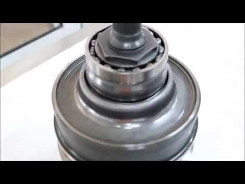 Фото к видео: Комплект шкивов и ремень Toyota CVT K110E CVT used
