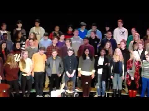 Friends' Central Upper School Chorus Concert Rehearsal