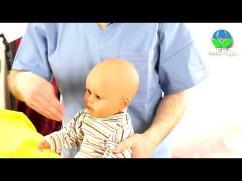 Болезнь дыхательных путей (бронхит, пневмония) у малыша и ребенка до 1 года