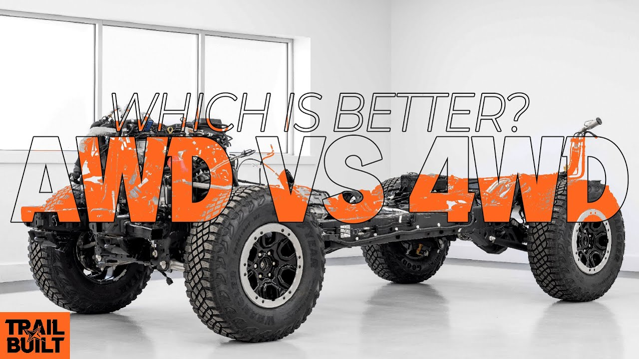 All-Wheel Drive vs Four-Wheel Drive