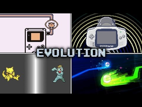 Evolution of Pokémon Trading Animations (1996 - 2017)