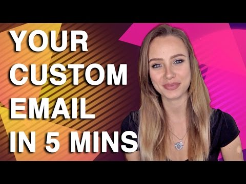 How to Create Your Custom Email Address in Under 5 Mintues