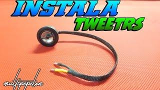 instalar tweeters profesionalmente esttica proteccin car audio