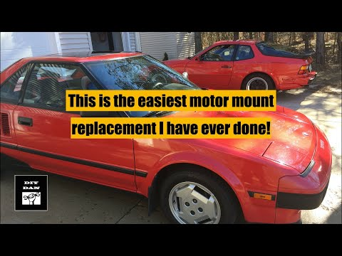 Toyota MR2: How To Replace A Motor Mount