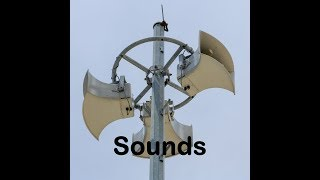 Tsunami Siren Sound Effects All Sounds