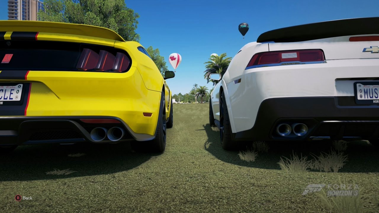 All Modern Muscle Car Sounds In Forza Horizon Youtube