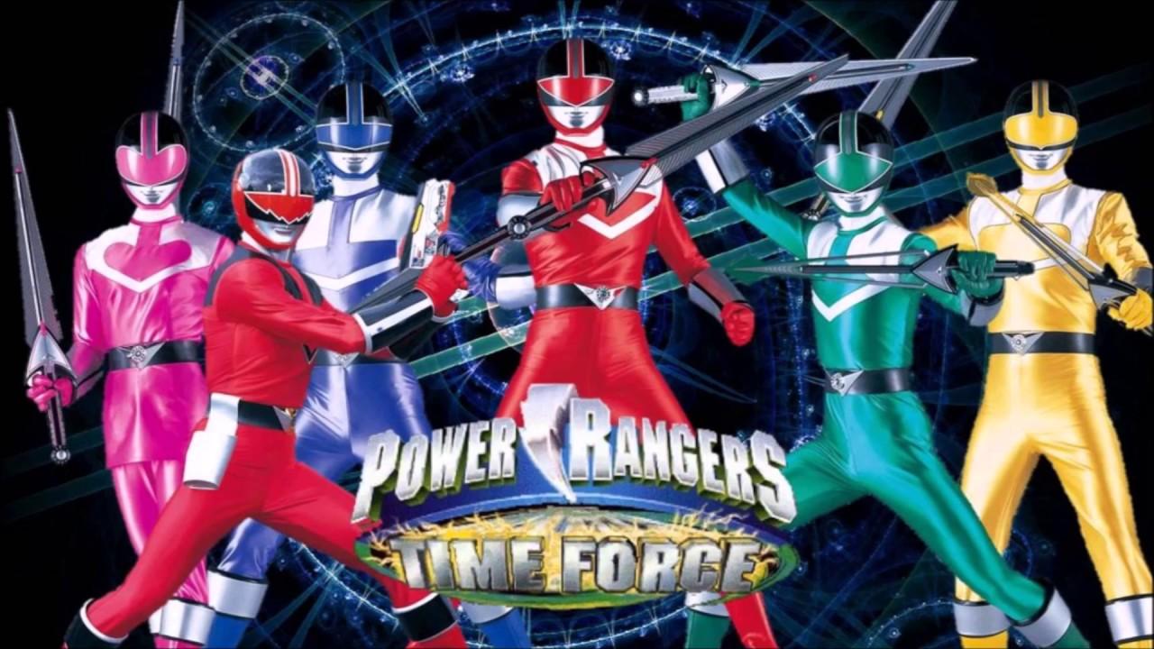 Power Rangers Time Force Full Team Fan Art YouTube