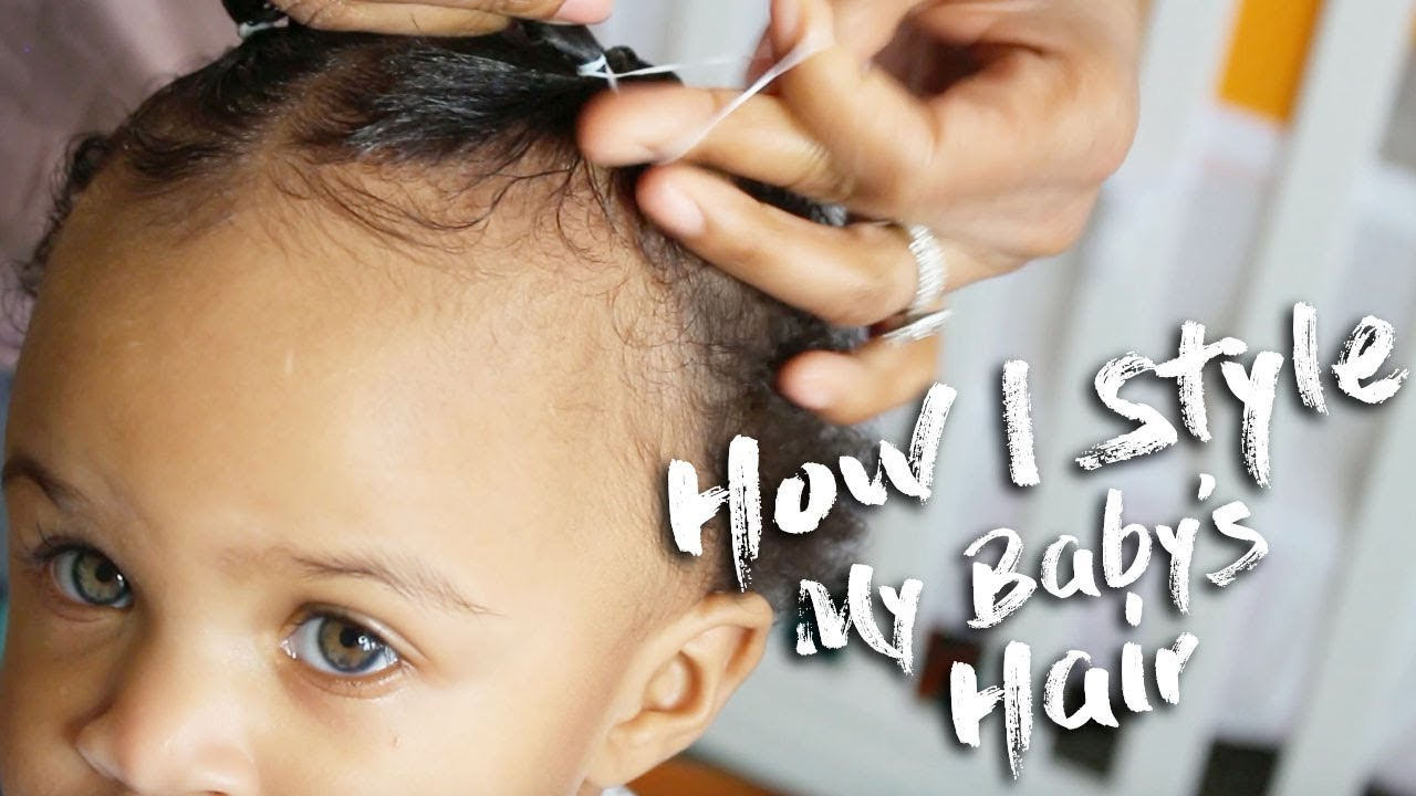 how do i style my hair how i style my baby s hair tips for a one year 7430