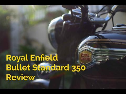 Royal Enfield Bullet Standard 350 Review