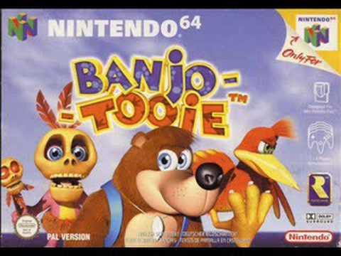 Banjo Tooie - Jiggywiggy's Puzzle (Fast Version)