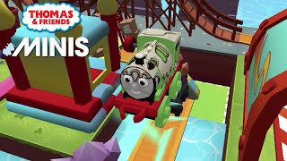 Thomas and Friends Minis - Dino Percy at the Theme Park Ferris Wheel! ★ iOS/Android app (By Budge)