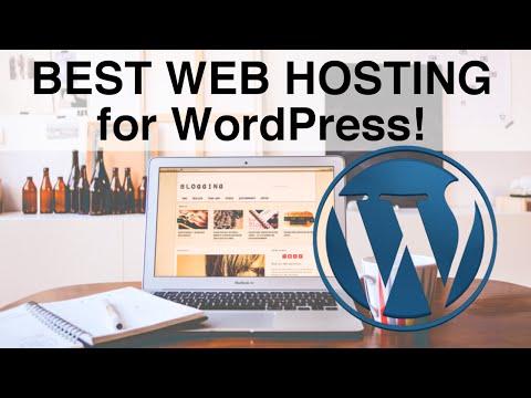 Top 3 Best Web Hosting for WordPress (2016)