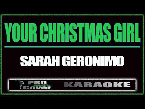 Your Christmas Girl - SARAH GERONIMO (KARAOKE)