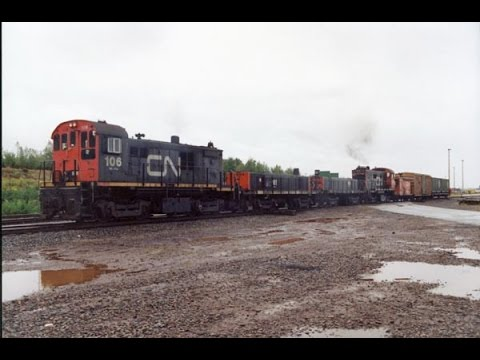 CN's Hump & Yard Booster Units (slugs) and Locomotives