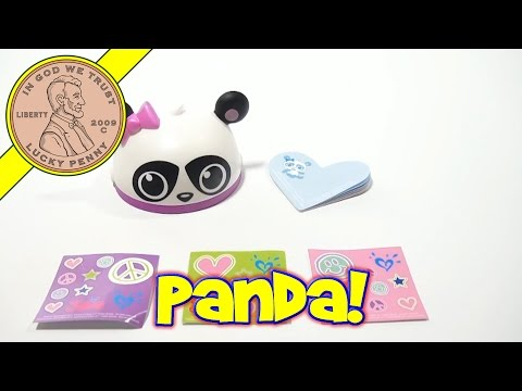 dd9652b93cf61 Justice #1 Panda Note Kit - 2013 McDonald's Happy Meal Toy Review ...