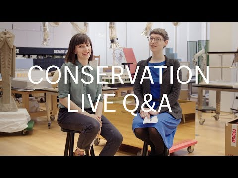 Live Q&A with MoMA Painting & Sculpture Conservators Ellen & Diana