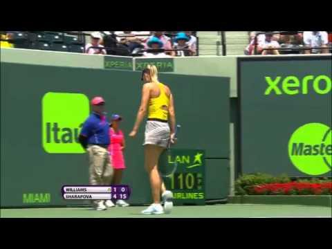 Sony Open Tennis WTA Hot Shot of the Day featuring Sharapova 3-27