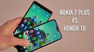 Nokia 7 Plus vs Honor 10 | Side-by-side comparison