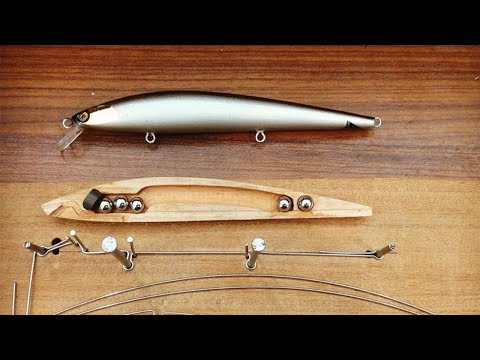 Fishing Lure Wire Bending