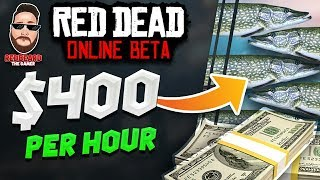 💰Make up to $400 per hour (Easy Money NOT a Glitch) in Red Dead Online